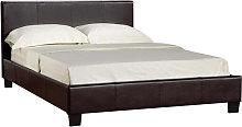 Prado Plus Hydraulic Double Bed In Brown