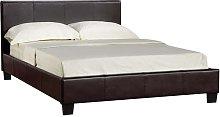 Prado Plus Hydraulic King Size Bed In Brown