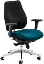 Praktikos Plus Posture Operator Chair Black Back,