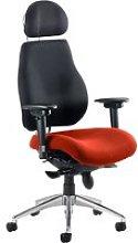 Praktikos Ultimate Fabric Operator Chair Black