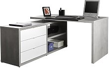 Pratico L-Shape Executive Desk Brayden Studio