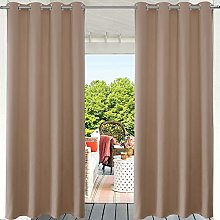 PRAVIVE Outdoor Curtain 95 Long for Patio