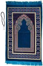 Prayer Mat /rug with Prayer Beads Tasbih mihrab