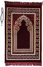 Prayer Mat /rug with Prayer Beads Tasbih mihran