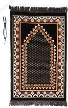 Prayer Mat /rug with Prayer Beads Tasbih Starry