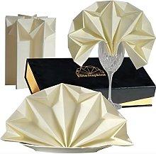 PRE FOLDED Decorative Napkins Cloth Linen-like