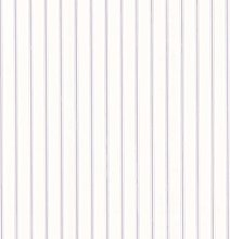 Pre-Pasted - White and Lilac Purple Pinstripes