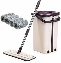 precauti Mop and Buckets Sets Self-Cleaning And