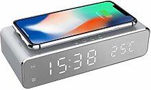 Precision Alarm Clock, White, One Size