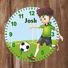 Precision Design Boy Playing Football Shaped Kids