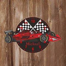 Precision Design F1 Shaped Kids Clock -