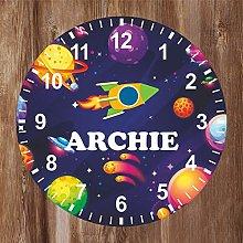 Precision Design Kids Room Space Clock -