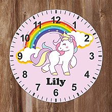 Precision Design Kids Room Unicorn Clock -
