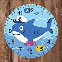 Precision Design Under The Sea - Kids Shark Clock