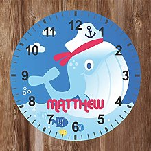 Precision Design Under The Sea - Kids Whale Clock