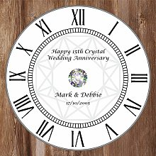 Precision Design Unique Personalised 15th Crystal