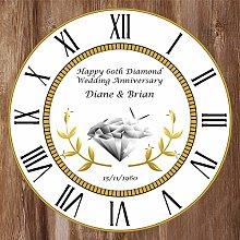 Precision Design Unique Personalised 60th Wedding