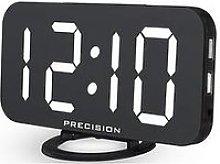 Precision Dual Usb Charger Alarm Clock