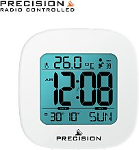 Precision Radio Controlled Digital Alarm Clock -