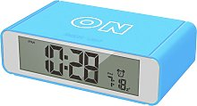 Precisions Flip Alarm Clock - Blue