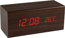 Precisions Wooden Alarm Clock