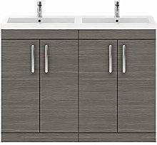 Premier - 1200mm Floor Standing Cabinet & Double