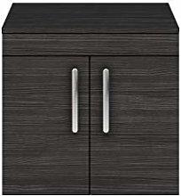 Premier - 600mm Wall Hung Cabinet & Worktop