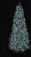 Premier Decorations 1000 LED Timer Lights - White