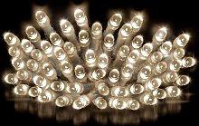 Premier Decorations 10m 200 LED Multi Lights -