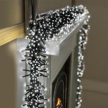 Premier Decorations 10m 2000 LED Multi Cluster
