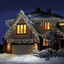 Premier Decorations 480 LED Icicle Lights - Warm