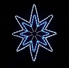 Premier Decorations 95cm LED Star Rope Light -