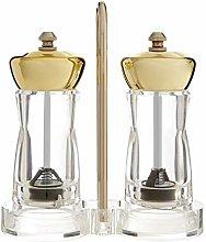 Premier Housewares 0507239 Salt & Pepper Mill Set,