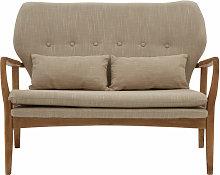 Premier Housewares 2 Seat Sofa Contemporary Corner