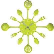 Premier Housewares 2200669 Lime Green Wall Clock