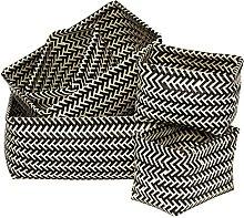 Premier Housewares 5-Piece Interlocking Basket,