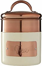 Premier Housewares 507355 Tea Canister, Stainless
