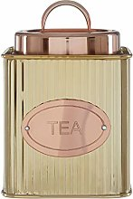 Premier Housewares 507389 Tea Canister, Stainless