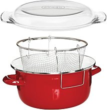 Premier Housewares 5L Deep Fat Fryer Enamel Chip