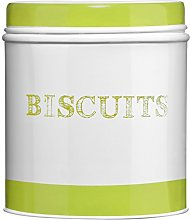 Premier Housewares Band Biscuit Canister - Green