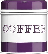 Premier Housewares Band Coffee Canister - Purple