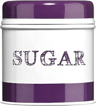 Premier Housewares Band Sugar Canister - Purple