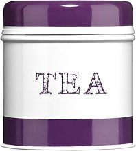 Premier Housewares Band Tea Canister - Purple
