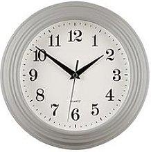 Premier Housewares Classic Grey Wall Clock