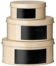 Premier Housewares Clifton Set Of 3 Storage Tins