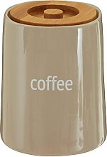 Premier Housewares Coffee Canister, Container,