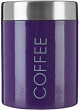 Premier Housewares Coffee Canister - Purple
