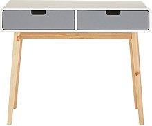 Premier Housewares Console Table Grey Finish