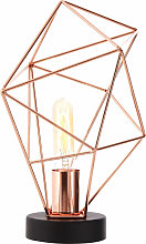 Premier Housewares Copper Finish Table / Desk /