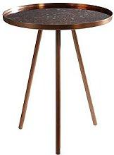 Premier Housewares Corra Lamp Table- Copper